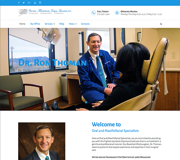 Ron Thoman Home page