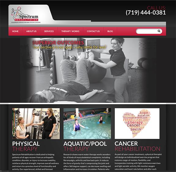 Spectrum Rehabiliation Home page