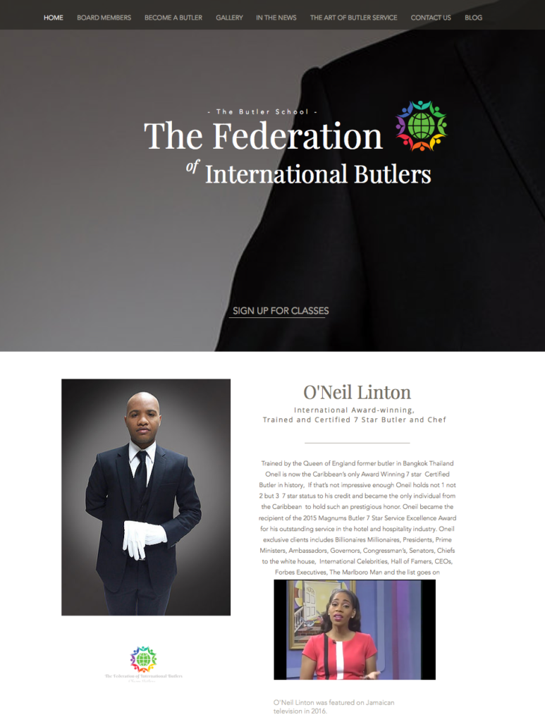 The Federation of International Butlers