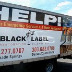 Black Label truck graphics