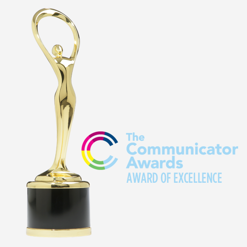 Crystal Peak Design Communicator Award