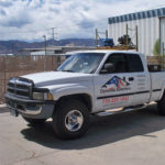 Crystal Peak Design vehicle wrap