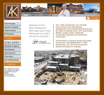 kleinconstruction