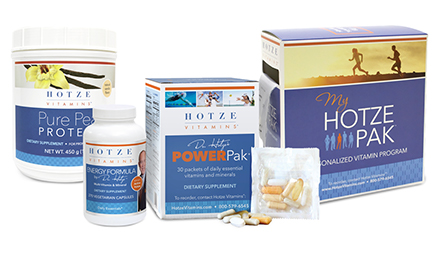 Hotze Vitamins product packaging